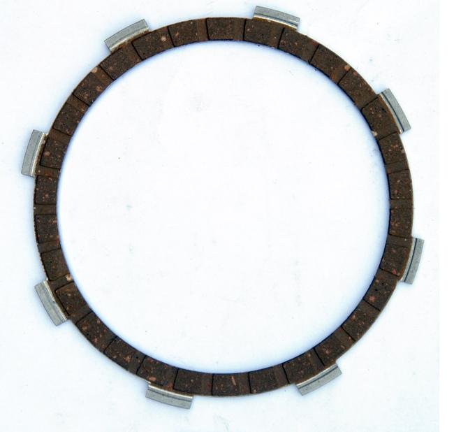 YAMAHA Motorcycle Clutch Plate Rubber Material YBR125 Disc Paper Based