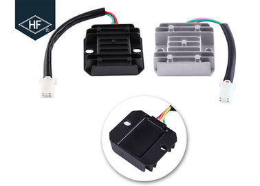 China Motorcycle Electric Parts Scooter Accessories 4 Wires 4 Pins 12 Voltage Regulator Rectifier For 150 - 250CC Motorcycle factory