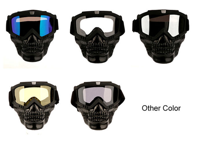 OEM Skull Head Aftermarket Motorcycle Accessories Free Size Mask Goggles